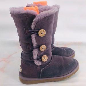 Ugg lavender purple boots size 6